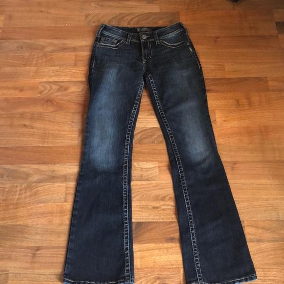 2e0bce1b Silver Jeans Jeans | Suki Surplus Boot Cut 27 | Poshmark